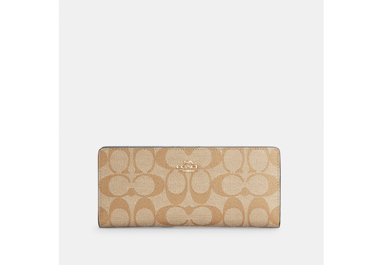 Slim Wallet In Signature Canvas image number 0