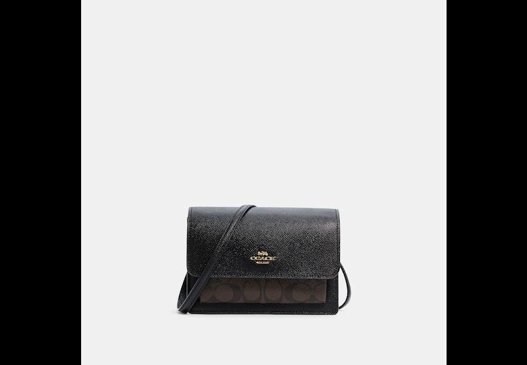 Foldover Belt Bag In Signature Canvas image number 0