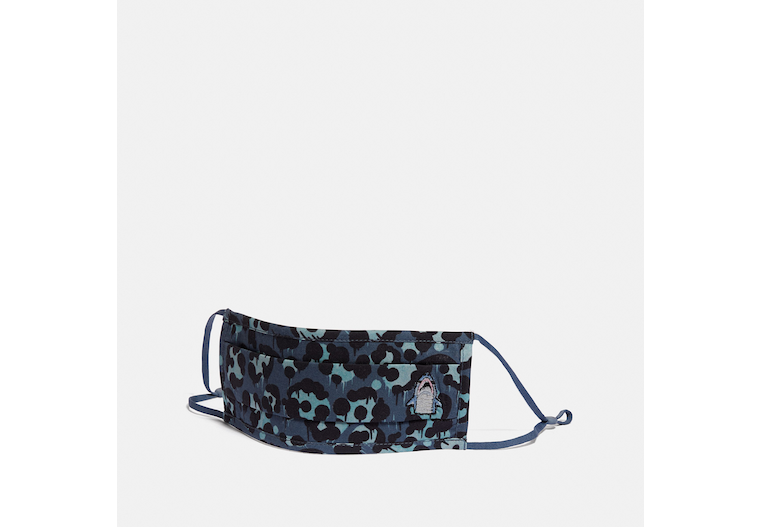 Sharky Face Mask With Camo Print image number 0