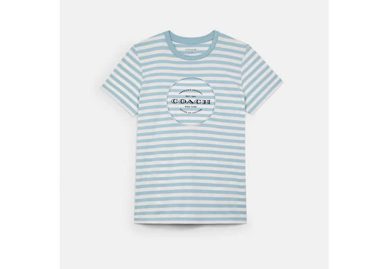 All Over Stripe T Shirt image number 0