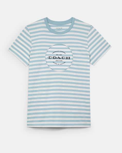 All Over Stripe T Shirt