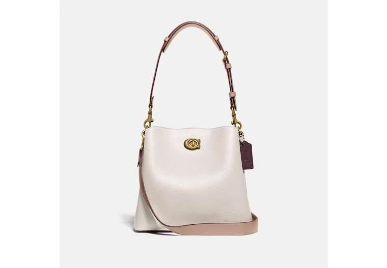 Willow Bucket Bag In Colorblock image number 0