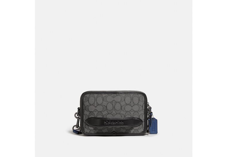 Charter Crossbody In Signature Jacquard image number 0