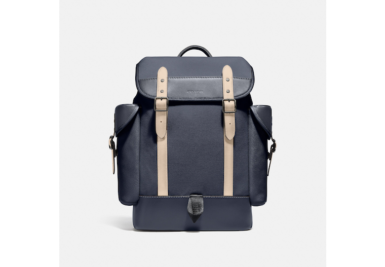Hitch Backpack In Organic Cotton Canvas image number 0