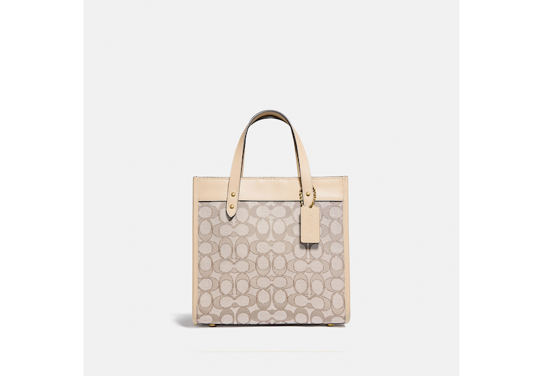 Field Tote 22 In Signature Jacquard image number 0