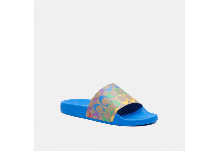 Slide With Rainbow Signature Canvas image number 0