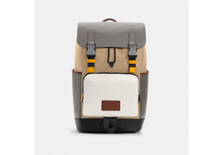 Track Backpack In Colorblock image number 0