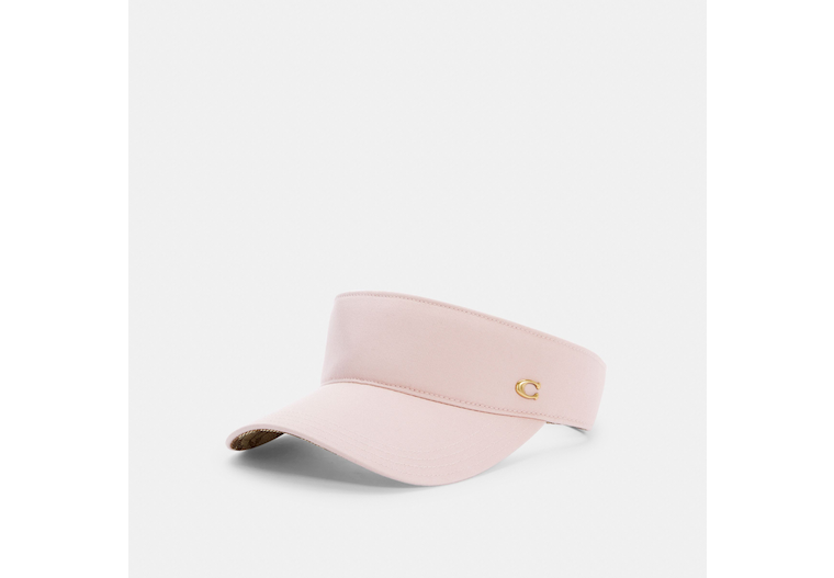 Solid Visor With Signature Lining image number 0