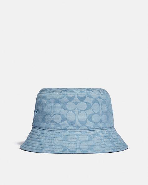 Signature Chambray Bucket Hat