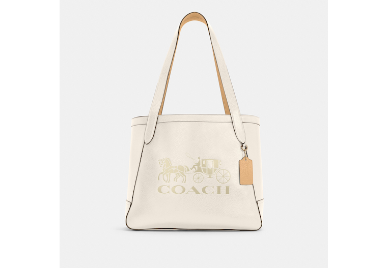 Horse And Carriage Tote With Horse And Carriage image number 0