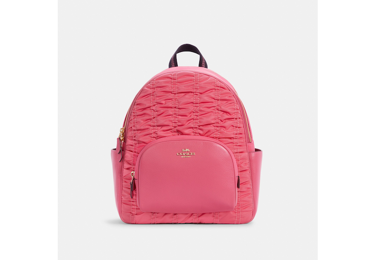 Court Backpack With Ruching image number 0