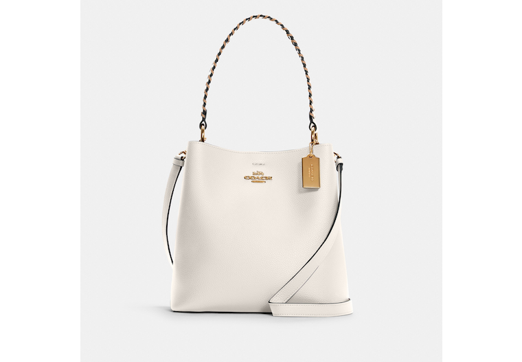 Town Bucket Bag With Whipstitch image number 0