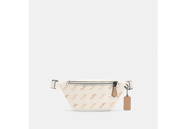 Warren Mini Belt Bag With Horse And Carriage Dot Print image number 0