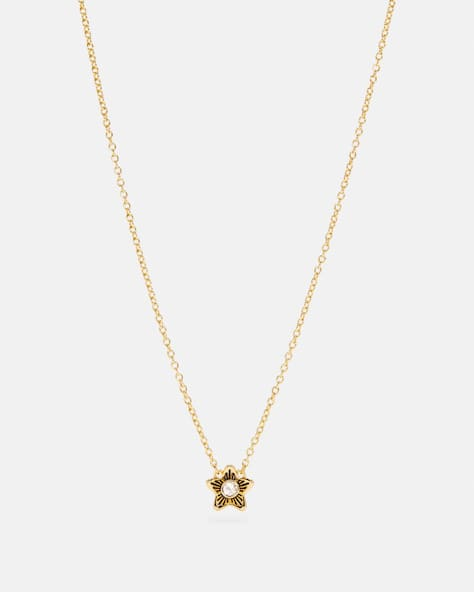 Wildflower Pendant Necklace