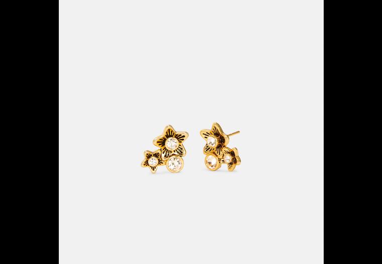 Wildflower Cluster Stud Earrings image number 0