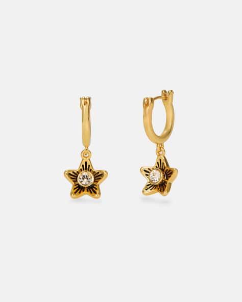 Wildflower Huggie Earrings