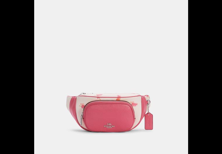Court Belt Bag With Popsicle Print image number 0