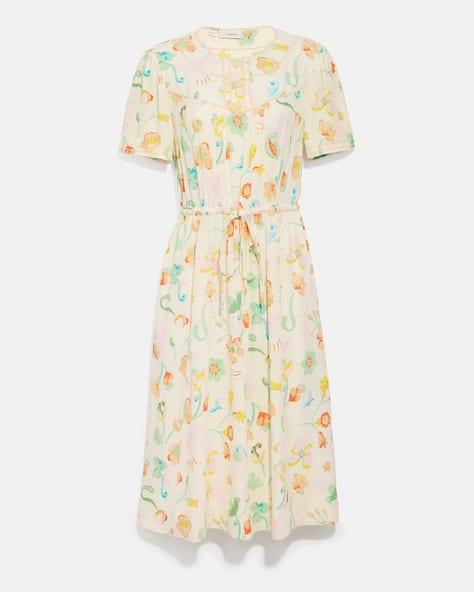 Trompe L'oeil Short Sleeve Dress