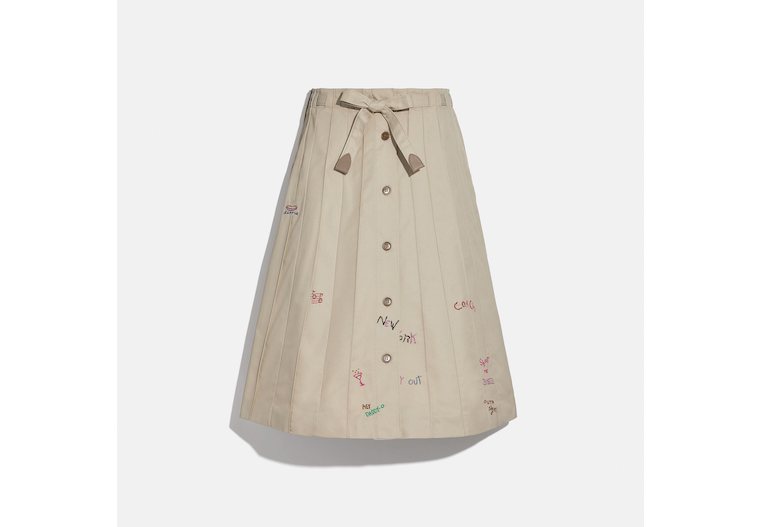 Trench Panel Skirt image number 0