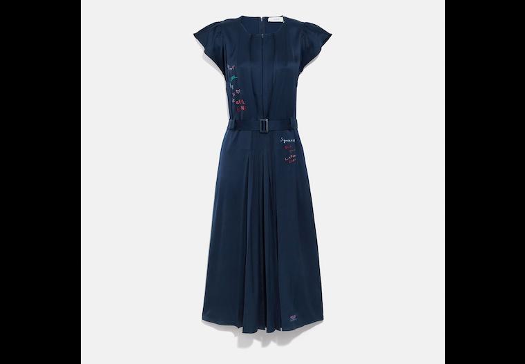 Sleeveless Pleated Dress image number 0
