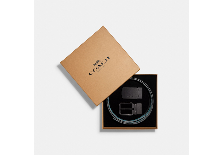 Boxed Plaque And Harness Buckle Cut To Size Reversible Belt, 38 Mm image number 0