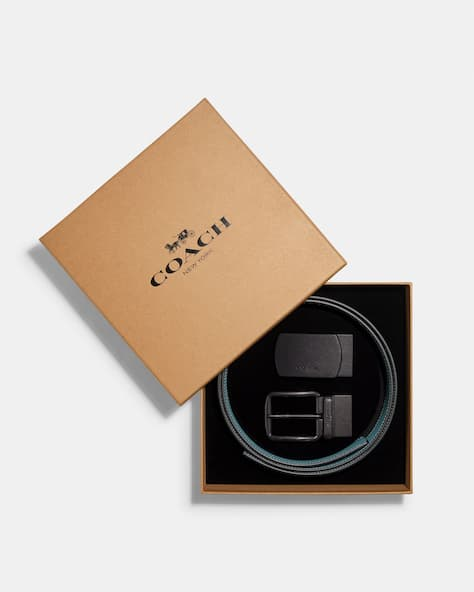 Boxed Plaque And Harness Buckle Cut To Size Reversible Belt, 38 Mm
