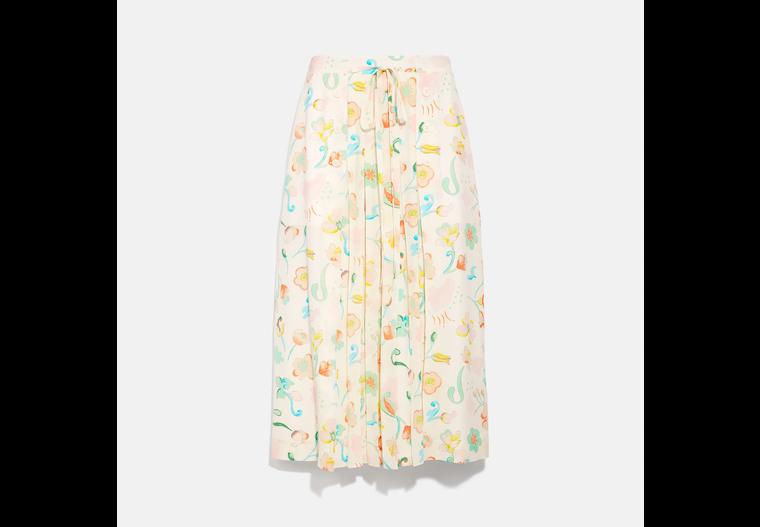 Printed Uptown Skirt image number 0