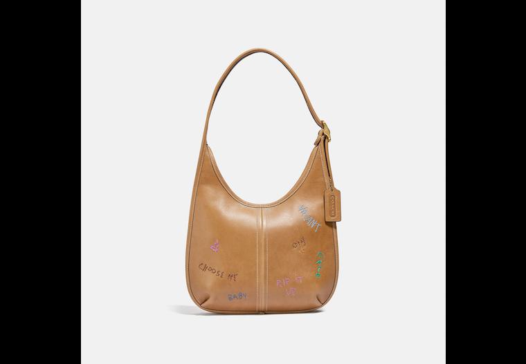 Ergo Shoulder Bag In Original Natural Leather image number 0