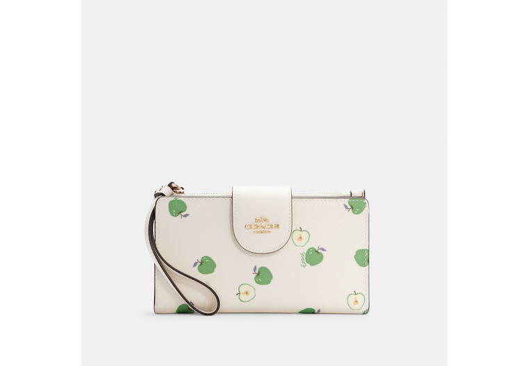 Tech Wallet With Apple Print image number 0