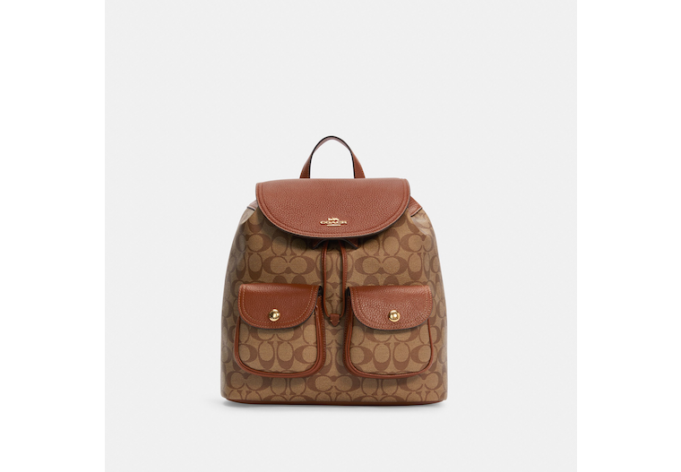 Pennie Backpack In Signature Canvas image number 0