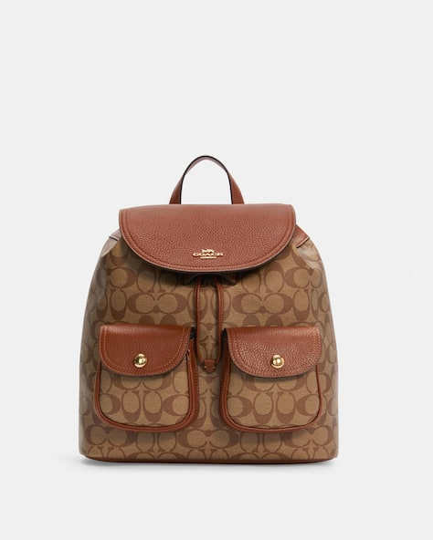 Pennie Backpack In Signature Canvas