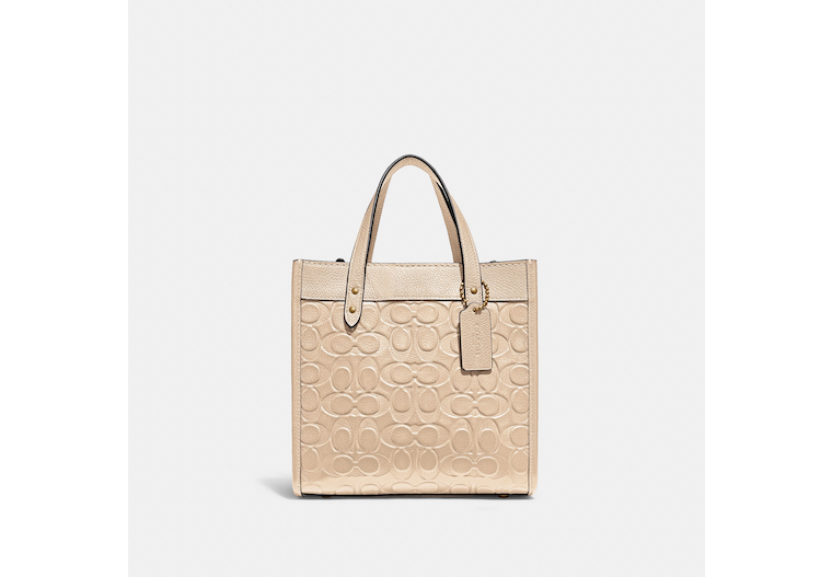 Field Tote 22 In Signature Leather image number 0