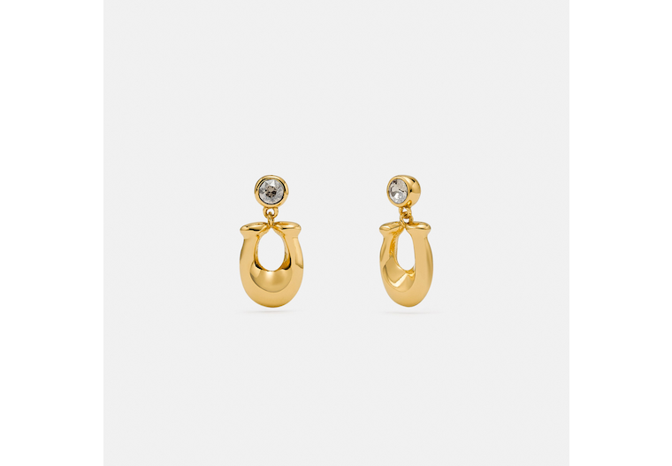 Signature Crystal Earrings image number 0