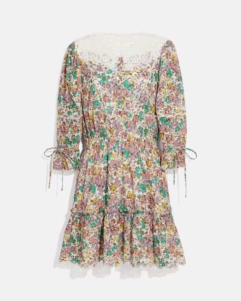 Printed Mini Tiered Dress