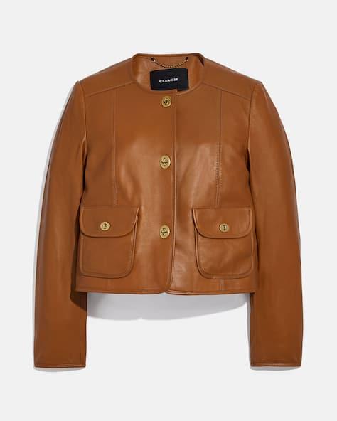 Cardi Leather Jacket