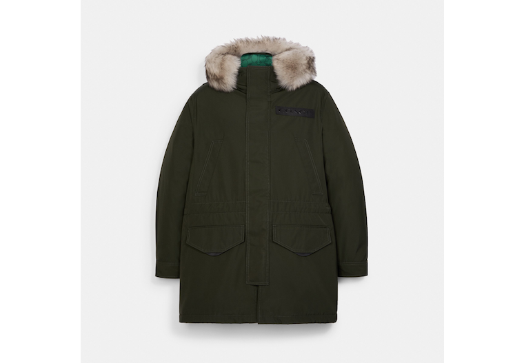 3 In 1 Parka With Shearling image number 0