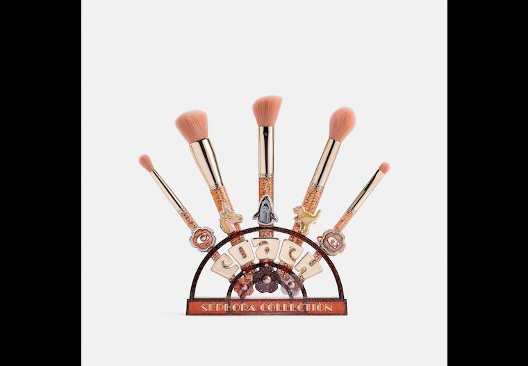 Coach X Sephora Collection Tea Rose Brush Set image number 0