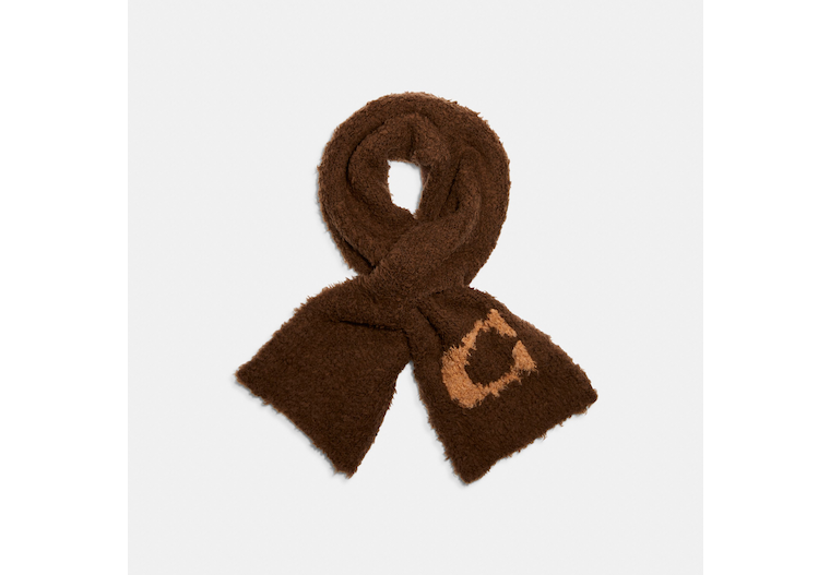 Sherpa Knit Scarf image number 0