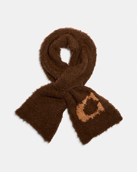 Sherpa Knit Scarf