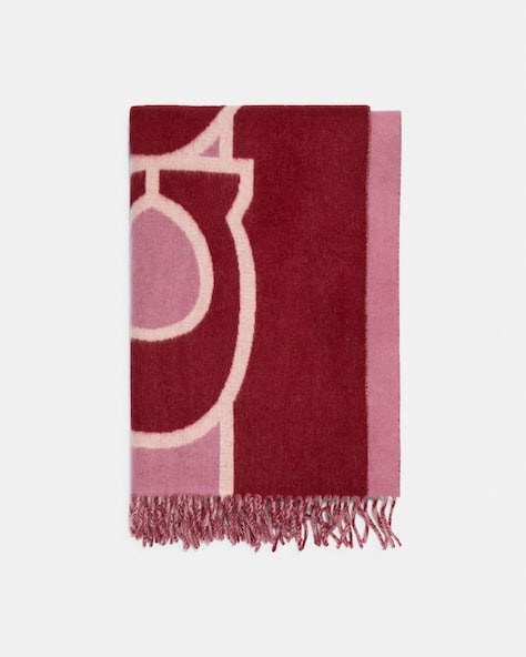 Reversible Colorblock Oversized Muffler