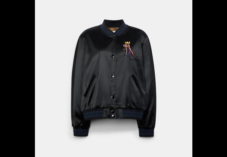 Coach X Jean Michel Basquiat Souvenir Jacket image number 0