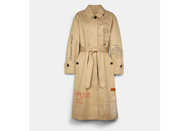Coach X Jean Michel Basquiat Trench image number 0