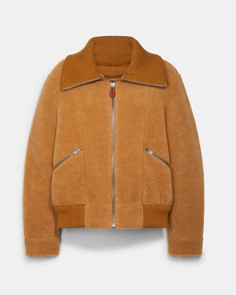 Sherpa Ribbed Jacket