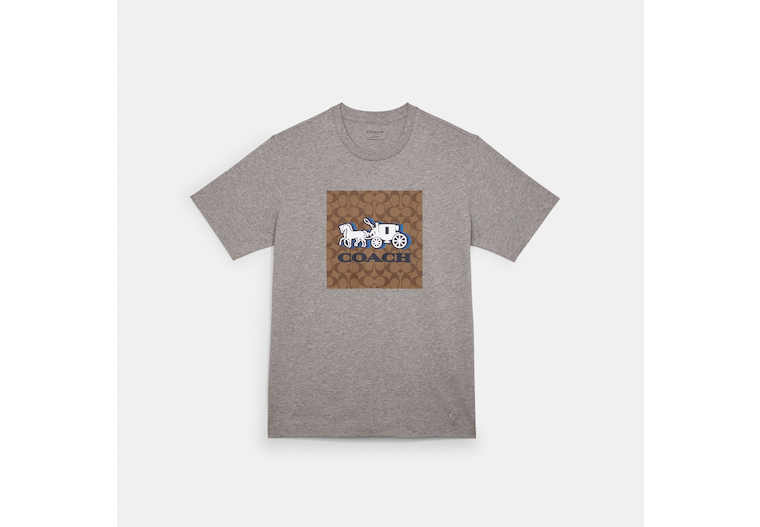 Horse And Carriage T Shirt image number 0