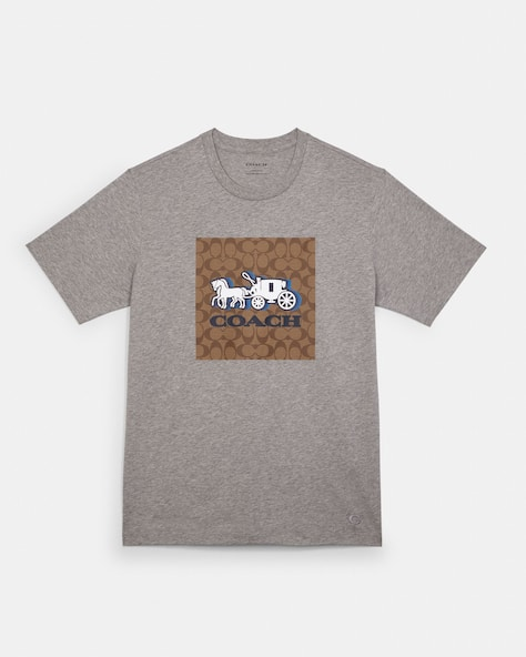 Horse And Carriage T Shirt