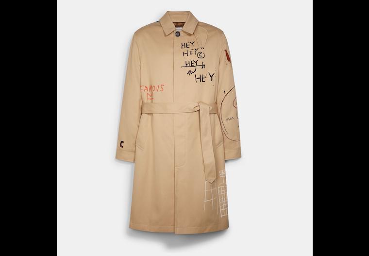 Coach X Jean Michel Basquiat Mac Coat image number 0