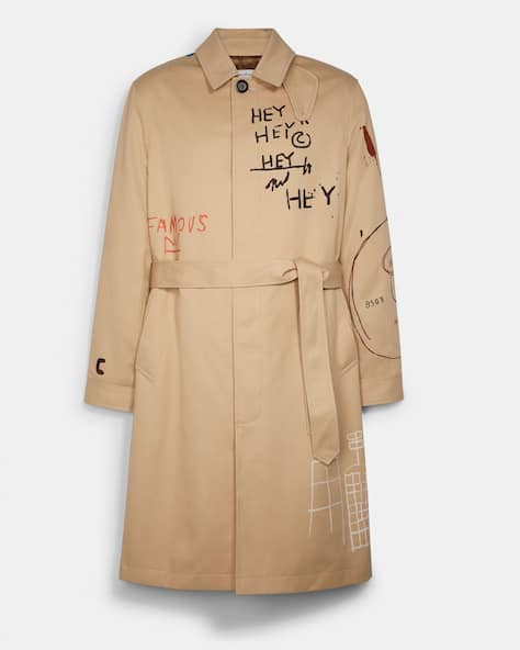 Coach X Jean Michel Basquiat Mac Coat