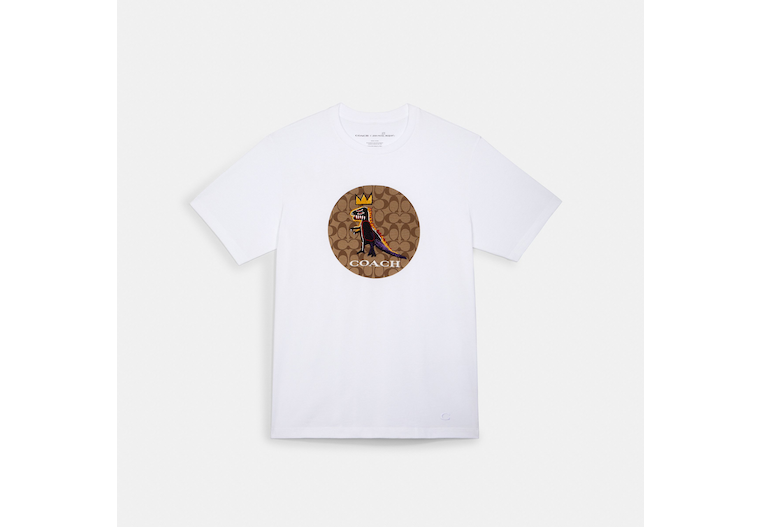 Coach X Jean Michel Basquiat Signature T Shirt image number 0