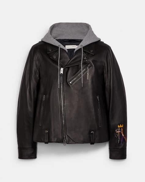 Coach X Jean Michel Basquiat Leather Jacket