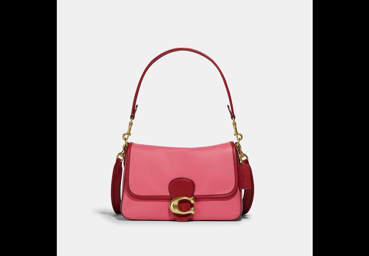 Soft Tabby Shoulder Bag In Colorblock image number 0